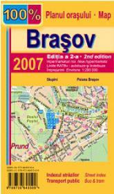 Brasov. Planul orasului - ***