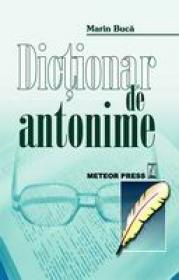 Dictionar de antonime -  Marin Buca