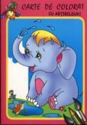 Elefantelul - Carte de colorat cu abtibilduri - ***