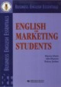English for marketing Students - Monica Marin, Iulia Rascanu, Raluca Serban
