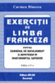 Exercitii de limba franceza - Carmen Dinescu