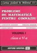 Exercitii si probleme de matematica pentru clasa a V-a (volumul I) - Constantin Basarab, Marlena Basarab, Dorina Dracea, Ion Patrascu
