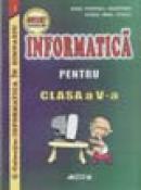 Informatica pentru clasa a V-a - Doru Popescu Anastasiu, Ovidiu Ninel Staicu