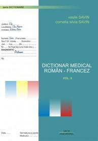 Dictionar Medical Roman-francez Vol. Ii - Savin Vasile, Savin Cornelia Silvia