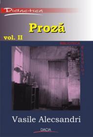 Proza Vol Ii - Alecsandri Vasile