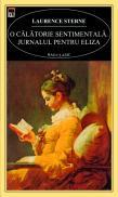 O calatorie sentimentala. jurnalul pentru Eliza - Laurence Sterne