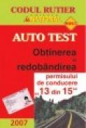 Auto test - Obtinerea si redobandirea permisului de conducere (13 din 15) - Dan Chiriac