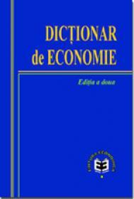 Dictionar de economie, editia a II-a - A.S.E., Catedra de Economie si Politici Economice