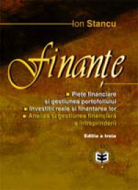 Finante, editia a III-a - Ion Stancu