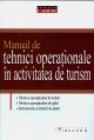 Manual de tehnici operationale in activitatea de turism - R. Andrei