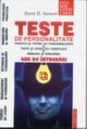 Teste de personalitate - Horst Siewert
