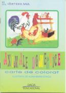 Animale Domestice- Carte De Colorat - Staicu Alina Maria