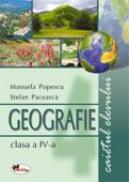 Geografie clasa a IV-a. Caietul elevului - Stefan Pacearca, Manuela Popescu