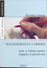 Opere Alese: Managementul Carierei - Nicolae Grosu