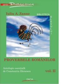 Proverbele Romanilor Vol. Ii - Zanne Iuliu A.