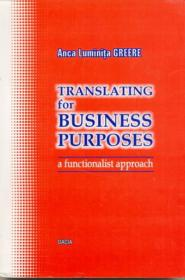 Translating For Business Purposes - Greere Anca Luminita