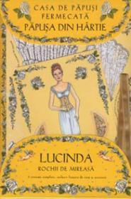 Casa de papusi fermecata - Papusa din hartie Lucinda - Cu rochii de mireasa - Robyn Johnson