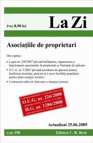 Asociatiile de proprietari (actualizata la 25.06.2009). Cod 358 - Paul Stewart, Chriss Riddell