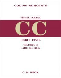 Codul civil. Volumul II (art. 644-1404) - Terzea Viorel