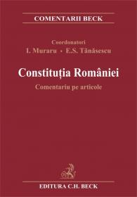 Constitutia Romaniei. Comentariu pe articole - Coordonatori: I. Muraru si E. S. Tanasescu; Autori: D. Apostol Tofan, F. A. Baias, V. M. Ciobanu, V. Cioclei, I. Condor, A. Crisu, S. Deaconu, A. Popescu, S. Popescu, B. Selejan Gutan, M. Tomescu, V. Vedinas, I. Vida, C. Zamsa
