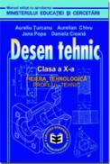 Desen tehnic CL. X - A. Chivu , A. Turcanu
