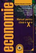 Economie CL. X - Ilie Gavrila , Paul Tanase Ghita , Dan Nitescu , Constantin Popescu