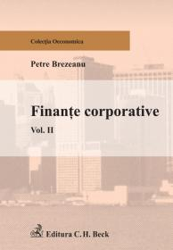 Finante corporative. Volumul II - Brezeanu Petre