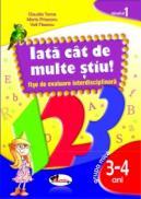 IATA? CAT DE MULTE STIU - fise de evaluare transdisciplinara nivelul 1 - grupa mica 3-4 ani - Claudia Toma , Maria Prisecaru , Vali Fleancu