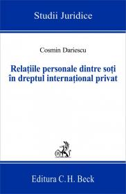 Relatiile personale dintre soti in dreptul international privat - Dariescu Cosmin