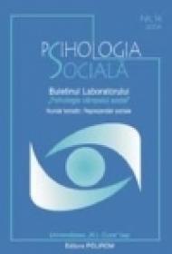 Psihologia Sociala. Nr. 14/2004 ? Buletinul Laboratorului ?Psihologia cimpului social?, Universitatea ?Al.I. Cuza?, Iasi - ***
