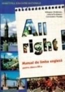 All Right. Manual de limba engleza clasa a VII-a. Anul VI de studiu - Constantin Paidos, Iuliana Andriescu, Mihaela Chilarescu