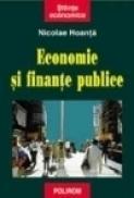 Economie si finante publice - Nicolae Hoanta