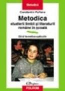 Metodica studierii limbii romane - Constantin Parfene